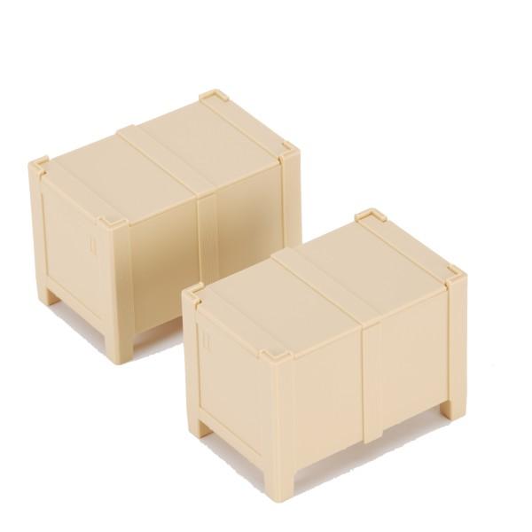 2 Kisten mit Deckel