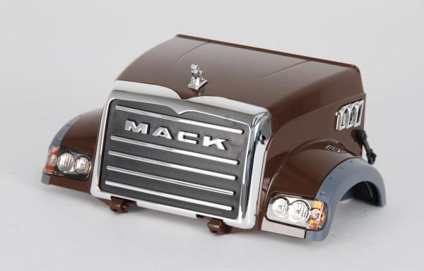 Motorhaube Mack braun