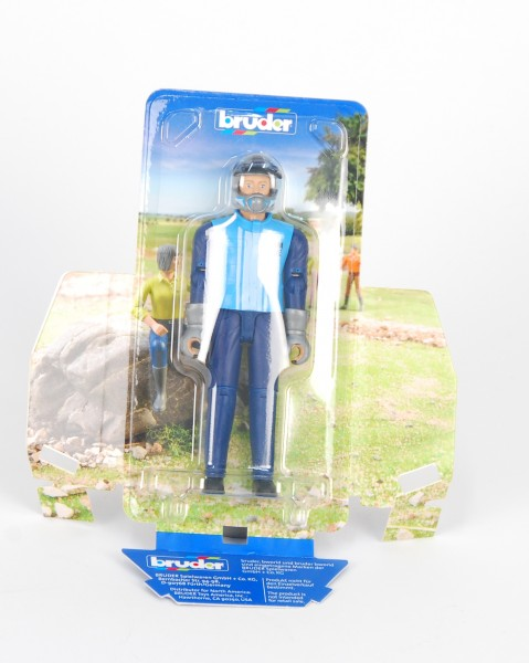 Rennfahrer lichtblau