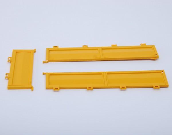 Bordwände für Baustellen-LKW MB Arocs