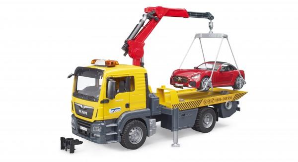 MAN TGS Abschlepp-LKW mit Roadster und Light & Sound Modul