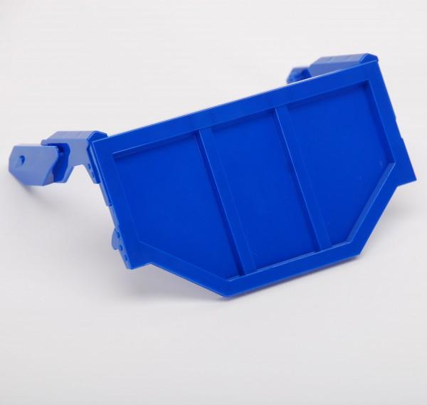 Heckklappe für Halfpipemulde blau