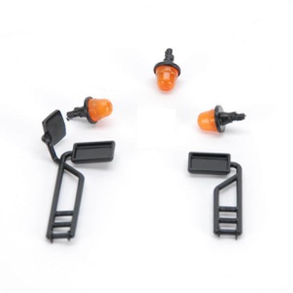 Spiegel und Signalleuchten für John Deere T670i