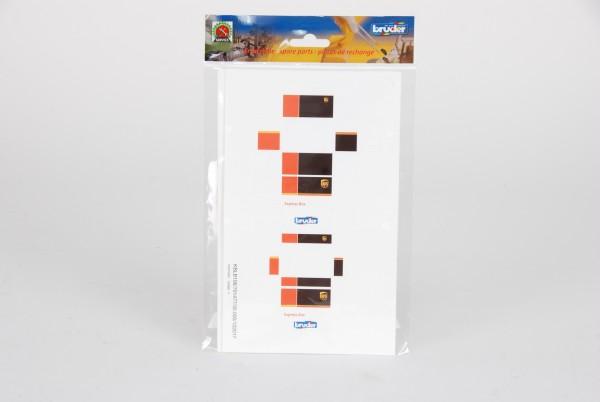 UPS Pakete (2 Bögen)