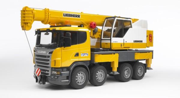 SCANIA R-Serie Liebherr Kran-LKW mit Light and Sound Modul (inkl.Batterie)
