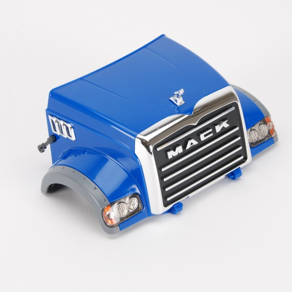 Motorhaube für Mack (blau)