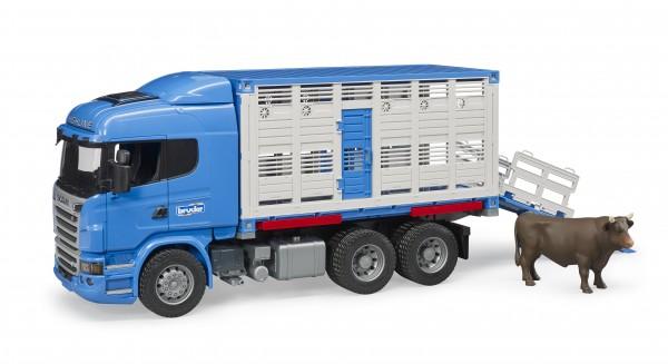 Scania R-Serie Tiertransport–LKW mit 1 Rind