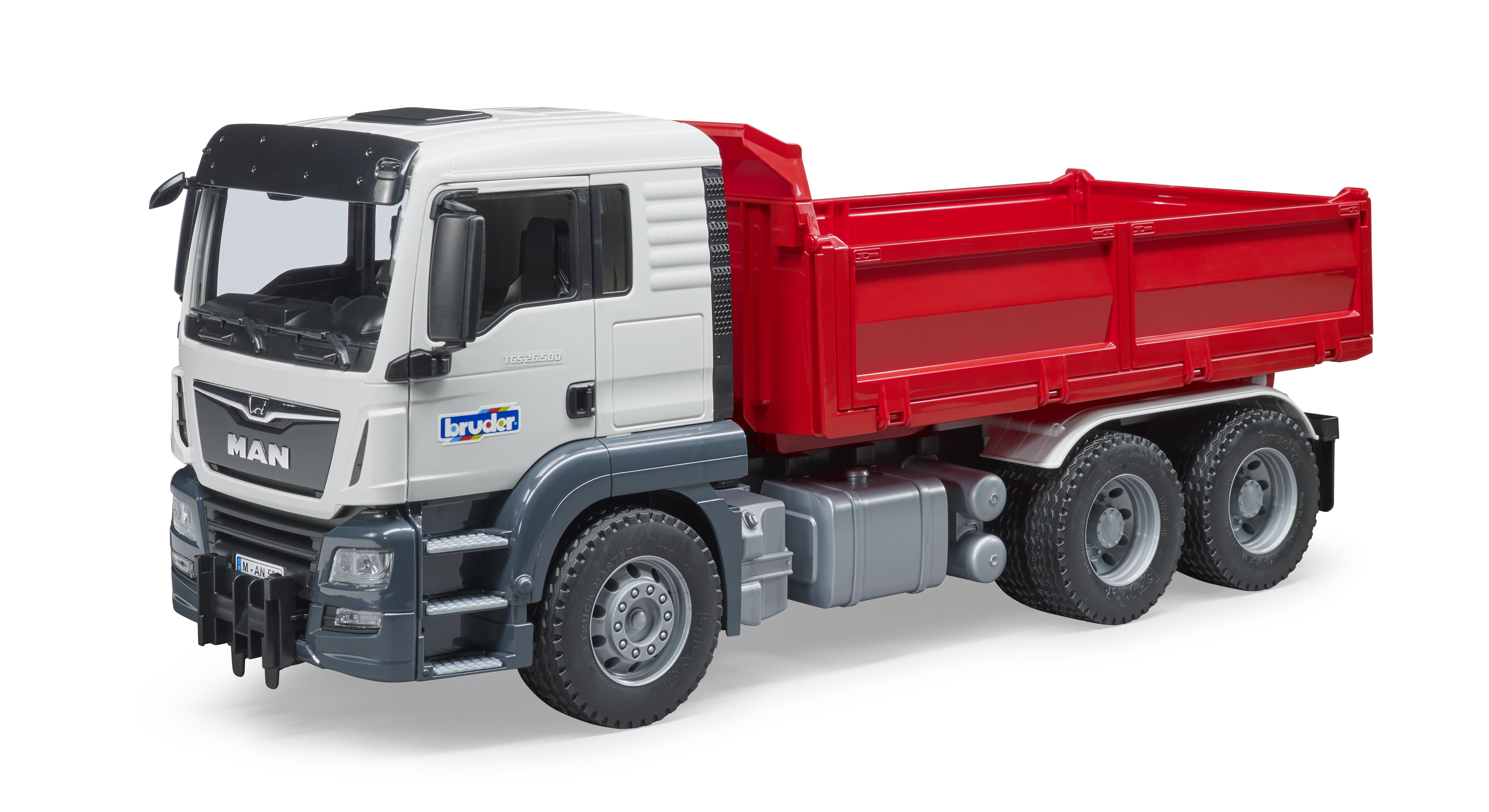 Bruder 02582 Pala lama spazzaneve con adattatori camion trattore 1:16
