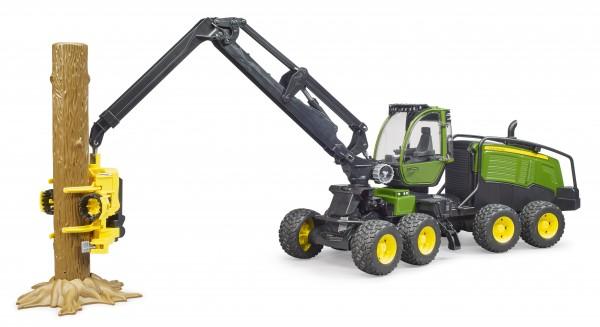 John Deere 1270G Harvester mit 1 Baumstamm