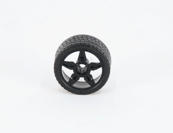 Rad Felge schwarz BRUDER Roadster