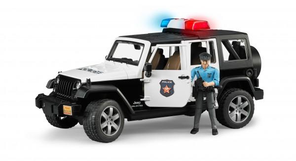 Jeep Wrangler Unlimited Rubicon Polizei Fahrzeug mit Polizist und Ausstattung