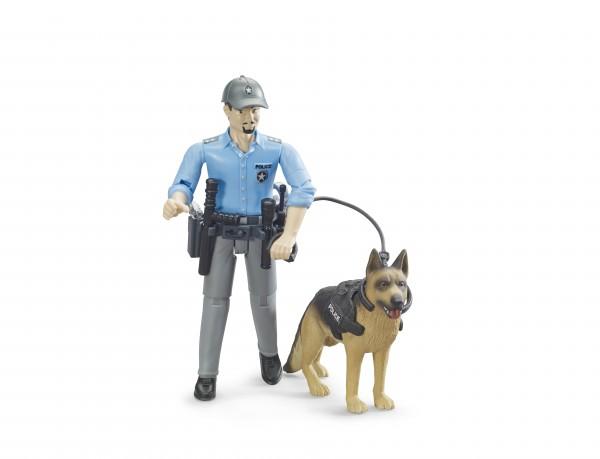 bworld Polizist mit Hund